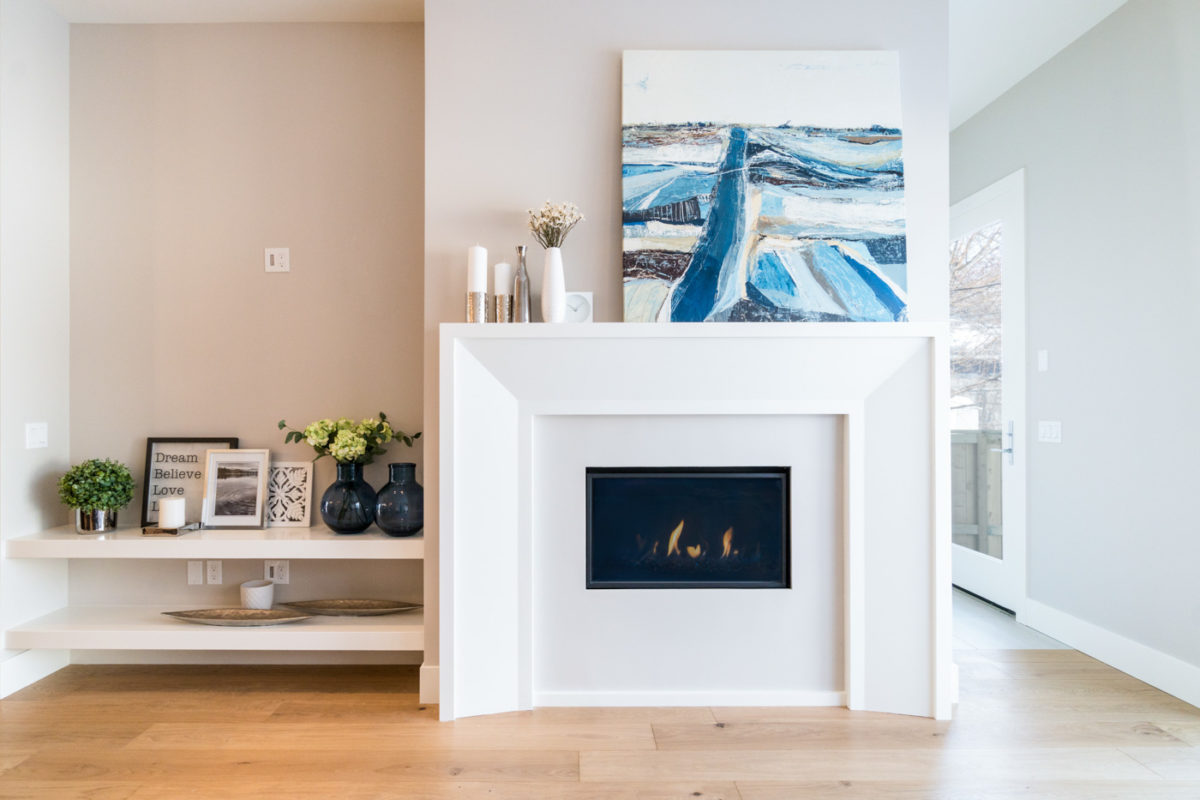 Lighthouse - 1808 31 ave - Fireplace